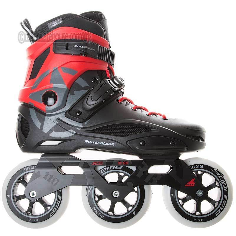 Rollerblade 110mm 3WD Fitness Recreational Powerblade Inline