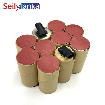 For Flex 12V 4000mAh battery pack SC Ni MH 280747 AB12 AC12 electric power tool (12v Ac Nimh Battery Pack)