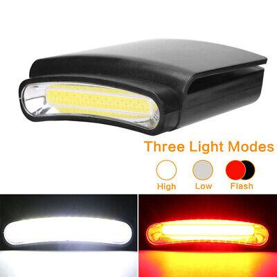 LED Kappenlampes COB Cap Light Schildkappe Licht Stirnlampe Headlamp Basecap - Led Cap Light