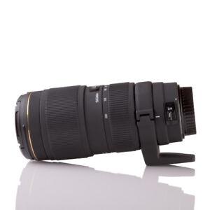 Sigma 70-200mm f/2.8 EX DG Macro HSM APO (Canon EF mount)