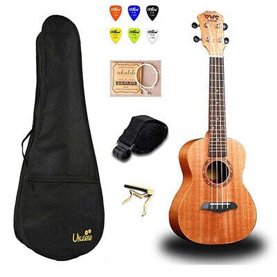 21 inch Concert Ukulele Set Hawaii Mini Guitar 4 strings Ukelele with Bag Capo, usado comprar usado  Enviando para Brazil