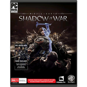 Shadow of war pc game