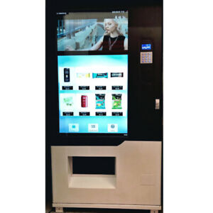new touch screen vending machine