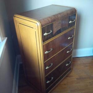 Art Deco Dresser- Refinished