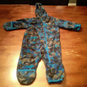 Columbia fleece (non-bulky) one piece snowsuit SOLD PPU