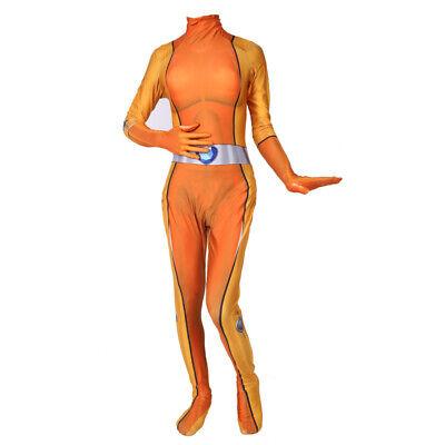 Costume Totally Spies (Totally Spies Alexandra Costume Cosplay Jumpsuit Lycra Zentai Bodysuit)