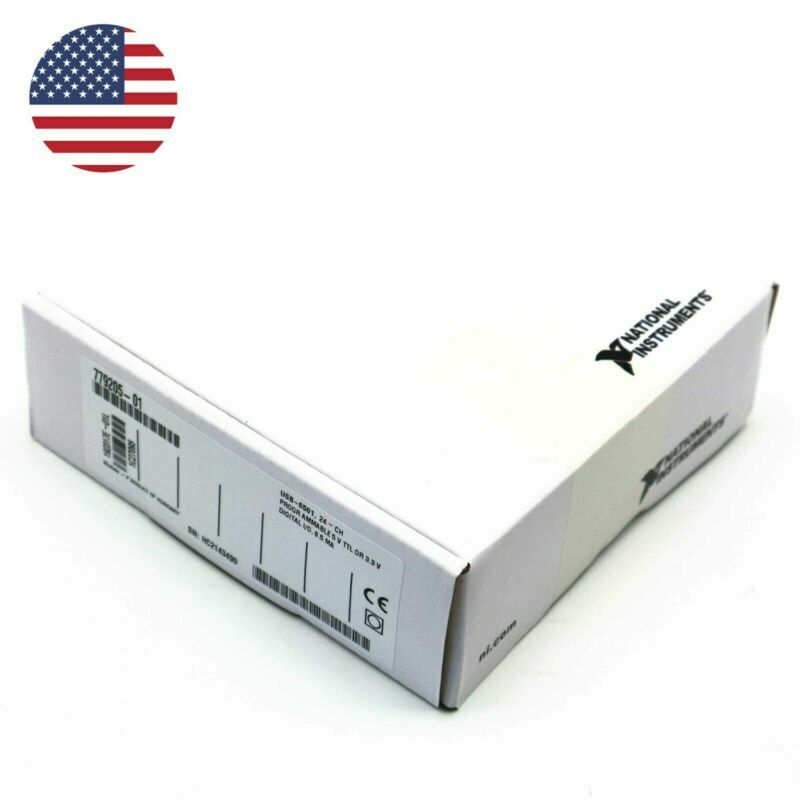 Sealed 24 Line 8.5 mA Digital I/O Module for USB-6501 NI DAQ DIO 192317E-01L