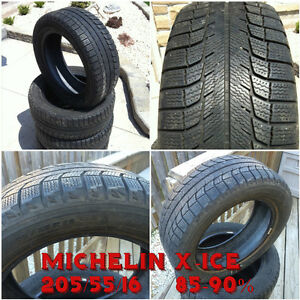 Used 16 inch Winter Tires - 205/55/16