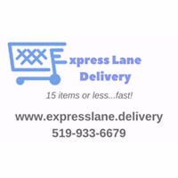 Express Lane Delivery...15 items or less...FAST!