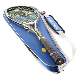Squash Racquet Black Knight ION X-FORCE Black