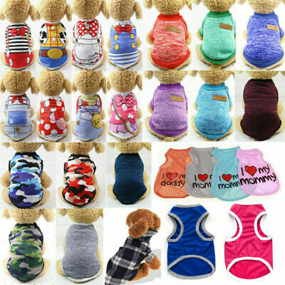 Cute Clothes For Puppies (Cute Camouflage Dog Clothes Vest For Small Dog Pets Puppy Spring Summer T)