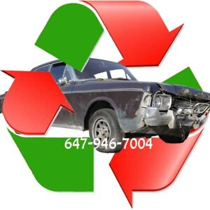 ✸✸ INSTANT CASH upto $1,900 FOR YOUR JUNK CAR ✸ 647-946-7004