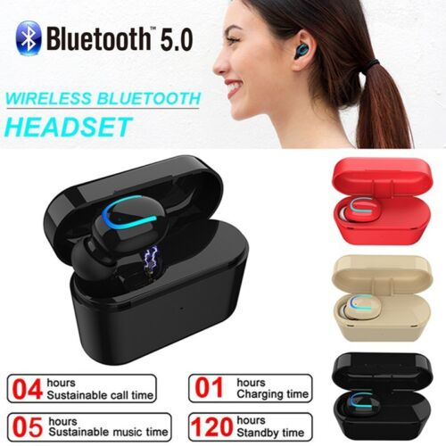 Mini Bluetooth V5.0 Earphone Headset Single Wireless Earbud