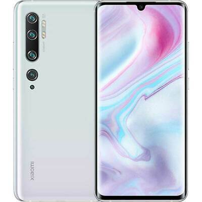 Xiaomi Mi Note 10 4G 108Mpx 128GB Dual-SIM glacier white EU Guarantee NEW