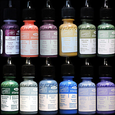 Craft Ink Refill - STAMPIN UP Rich Soft CRAFT PIGMENT INK REFILL ONE BOTTLE REINKER FREE USA SHIP