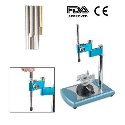 Fully Adjustable Dental Lab Parallel Surveyor Visualizer Equipment 7 Spindles