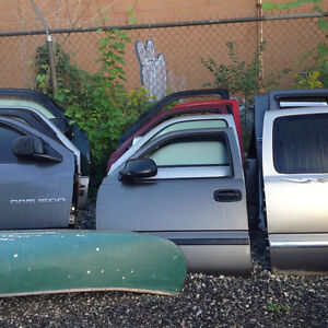 1999 and up Chevy doors,hoods,fenders