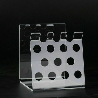 1 Pc Dental Resin Composite Syringe Acrylic Transparent Organizer Holder Case