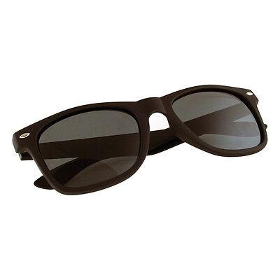Occhiali da Sole Stile Wayfarer Sunglasses per Donna Uomo Polarizzate Nero