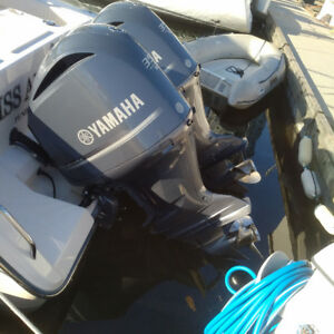 Twin 350 HP V8 Yamaha Outboards