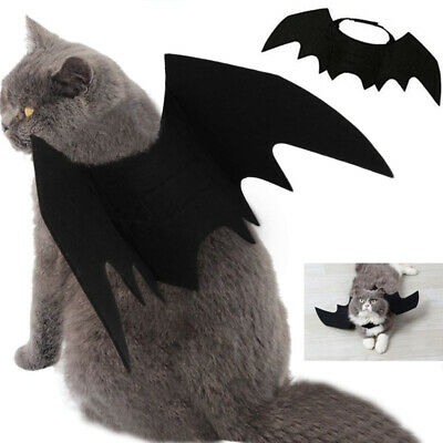 Halloween Pet Cat Costume Bat Wings Costumes Pet Apparel for Small Dogs and