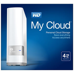 Western Digital 4 TB  My Cloud Network Hard Drive NEW SEALED St. John's Newfoundland image 1