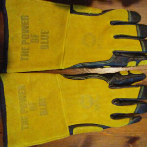 miller heavy duty welding gloves