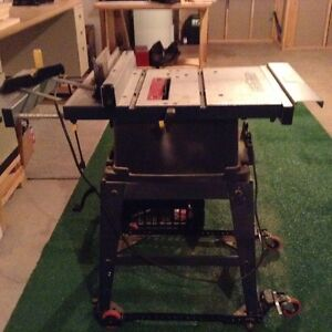Mastercraft Table Saw & Stand