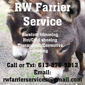 RW Farrier  Service