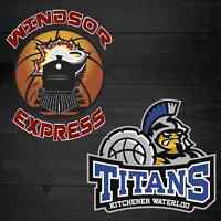 Windsor Express vs. KW Titans