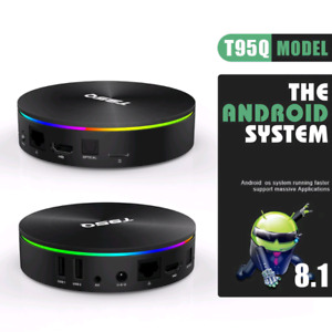 All New Full 4K Android Tv Boxes 2019 And Packages T95Q X96 Max