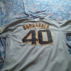 Madison Bumgarner Giants jerseys Kitchener / Waterloo Kitchener Area image 1