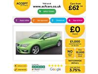 Seat Leon FROM £62 PER WEEK!
