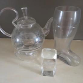 Clear glass bundle £5
