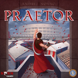 BOARD GAME - PRAETOR new in shrink