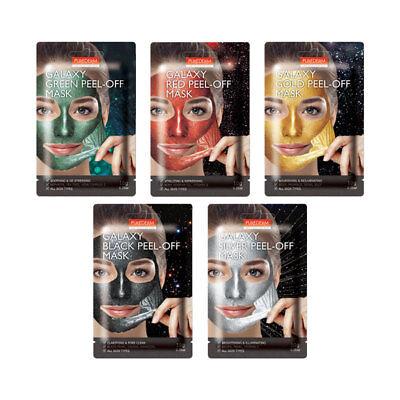 [PUREDERM] Galaxy Peel-Off Mask 5 Type 10g * 5pcs - BEST Korea (Best Peel Off Mask)