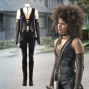 Deadpool 2 Domino Neena Thurman sexy cosplay costume outfits