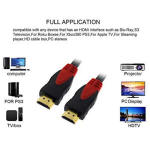 KONEX (TM) 50FT 50 FEET, 15M, 15 METERS HDMI CABLE, 1.4, WITH 3D