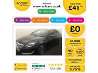 VAUXHALL INSIGNIA 1.6 CDTI SRI  2.0 CDTI VX-LINE 1.4  ELITE FROM £41 PER WEEK!