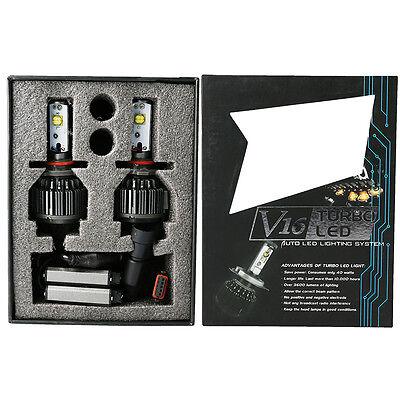 V16 Turbo CREE LED Headlight Kit 60W 7200LM/Set H11 H8 H9 Xenon White Bright New