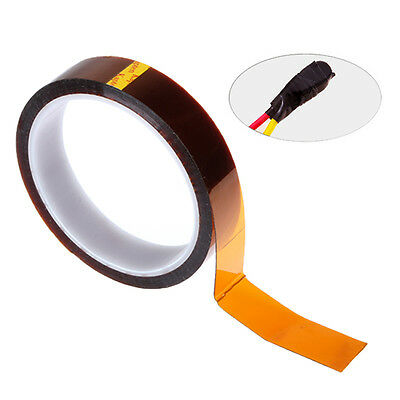 30m Tape Adhesive Heat Resistant High Temperature Polyimide Electrical Insulate