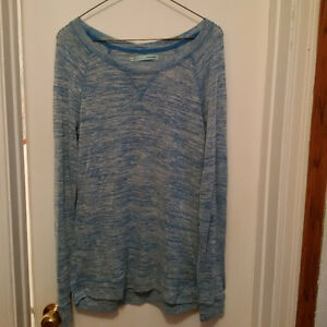 Blue Long Sleeve Sweater - Maurices