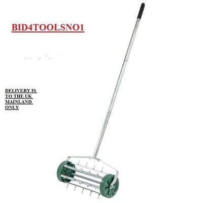 Draper 83983 Grass Lawn Rolling  Aerator with 450mm Spiked Drum BARGAIN £25.14os