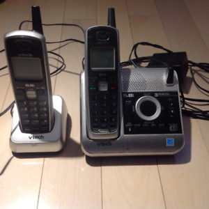 VTech 5.8ghz 2x home telephones system