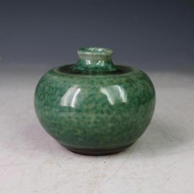 Chinese Old Flambe Rust Colored Glaze Porcelain Water Jar