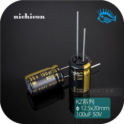 550pcs 100uf 50v Kz Muse Nichicon Audio Electrolytic Capacitor