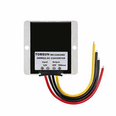 Waterproof Dc12v To Dc 24v 10a 240w Step Up Power Supply Converter Regulator Kit