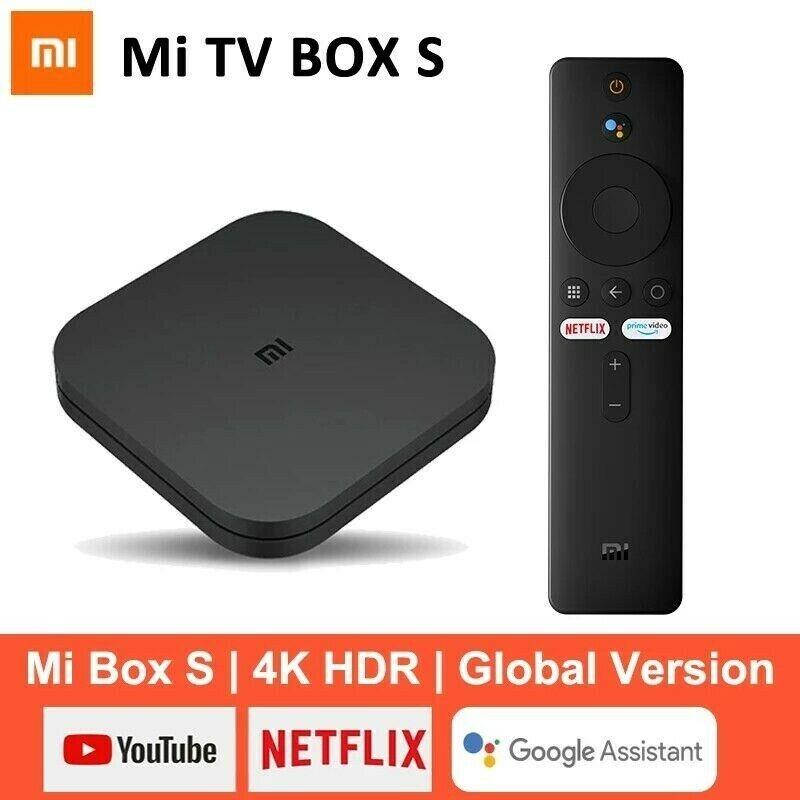 Xiaomi Mi Box S 4K Ultra HD Smart Set TV Box Android8.1 Google Assistant EU PLUG