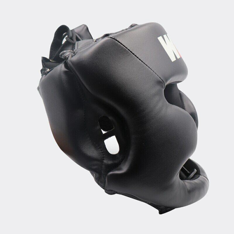 как выглядит Adult Kickboxing Muay Thai MMA Boxing Helmet Protective Headgear Martial Arts фото