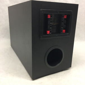 """KLH Passive Subwoofer 6""""dual voice coil with 2 satellite spkrs"""